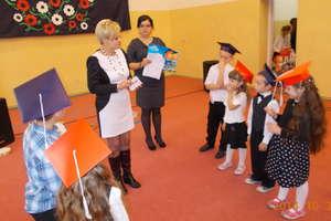 Ślubowanie  uczniów klasy I w Szkole Podstawowej w Pakoszach