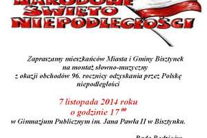 Święto Niepodległości w gimnazjum