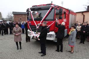 Mercedes na służbie ochotników z Brzozia Lubawskiego