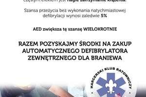 AED w Braniewie? To jest możliwe!