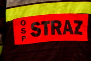 Tragiczny pożar w Wopławkach. Nie żyje mężczyzna