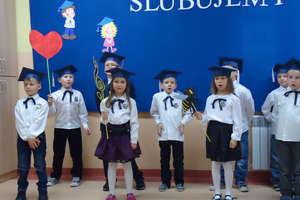 Ślubowanie klasy I w Szkole Filialnej w Snopkach