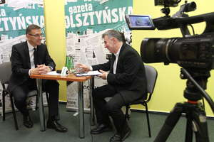 Olsztyńska TV: Rozmowa z Piotrem Grzymowiczem