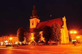 Kino Harmonia w Nowym Mieście Lubawskim - dawniej kościół ewangelicki