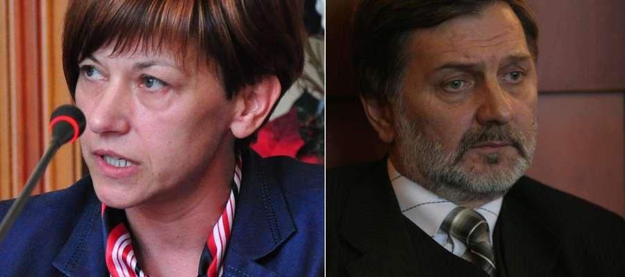 Bernadeta Hordejuk i Adam Żyliński - ktoś z nich będzie burmistrzem Iławy
