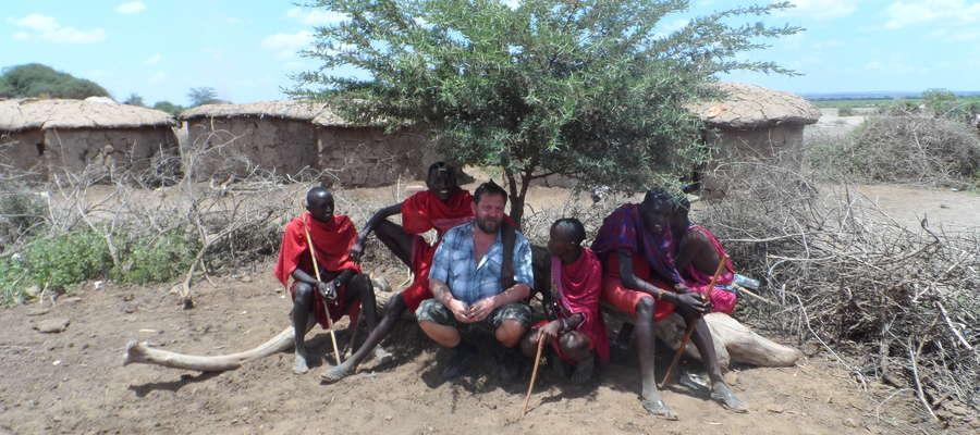 Wśród Masajów w Kenii