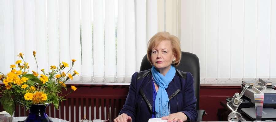 Otolia Siemieniec - burmistrz Mrągowa