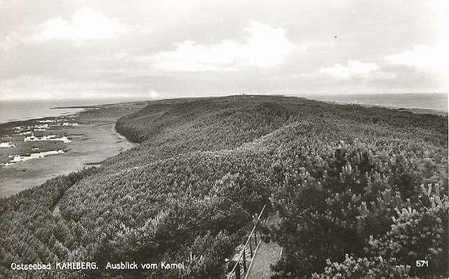 Widok z Wielbłądziego Garbu w 1926