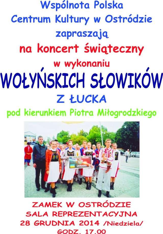 Wołyńskie Słowiki w Ostródzie - full image