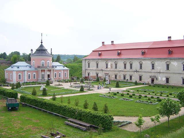 Zamek Sobieskich w Złoczowie - full image