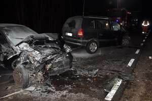 Wypadek na DK 58. Trzy osoby zostały ranne