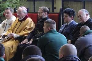 Msza Pasterska w Zakładzie Karnym w Iławie i spotkanie służb mundurowych