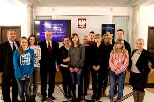Młodzież II LO z wizytą w Sejmie