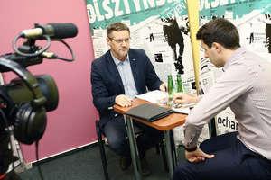 Olsztyńska TV: Zobacz zapis rozmowy z Januszem Cichoniem