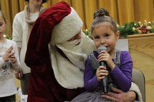 Święty Mikołaj przybył do dzieci w Bisztynku
