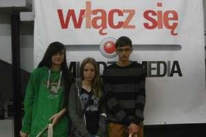 """Uczniowie z """"Dwójki"""" na ogólnopolskim Festiwalu """"Młodzi i media"""""""
