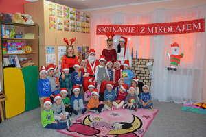 Spotkanie ze Świętym Mikołajem w Przedszkolu Gminnym nr 1 w Bartoszycach