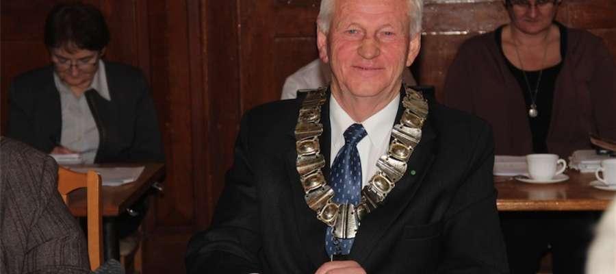 Wacław Strażewicz został starostą giżyckim na kadencję 2014 - 2018.