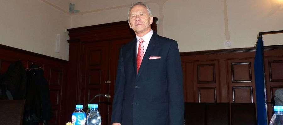 Tadeusz Orzoł został przewodniczący Rady Miejskiej