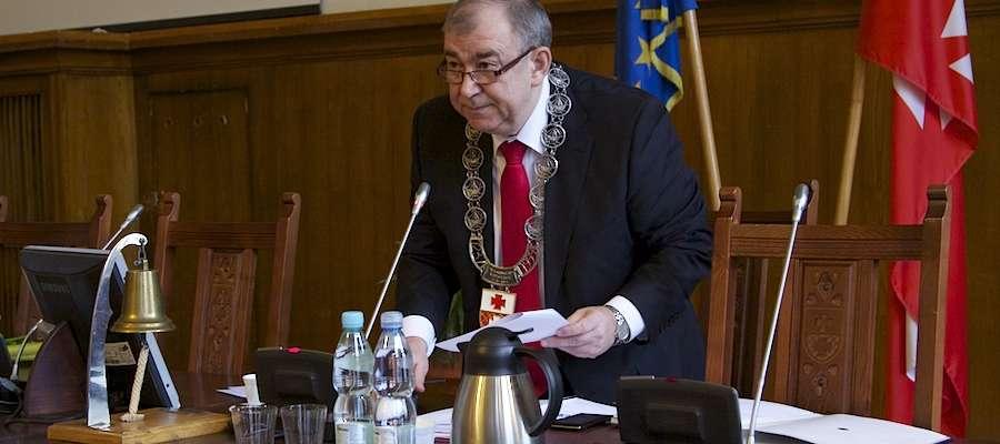 Podczas piątkowej sesji Jerzy Wilk został wybrany na przewodniczącego Rady Miejskiej w Elblągu