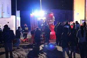 Pożar w budynku socjalnym przy Towarowej. Jedna osoba zginęła