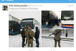 Rozpoczęła się ewakuacja Polaków z Donbasu