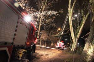 Wichura w Olsztynie i powiecie. Ponad 70 interwencji straży pożarnej