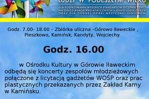 23. finał WOŚP w Górowie Iławeckim i okolicach