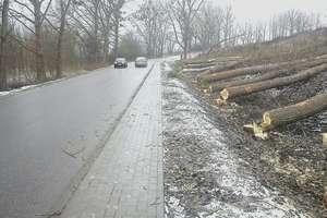 Krajobraz uboższy o 60 drzew