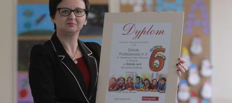 Joanna Sędrowska, dyrektor Szkoły Podstawowej nr 3