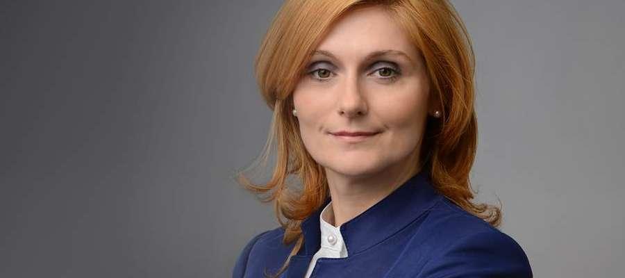 Sylwia Jaskulska z zarządu województwa