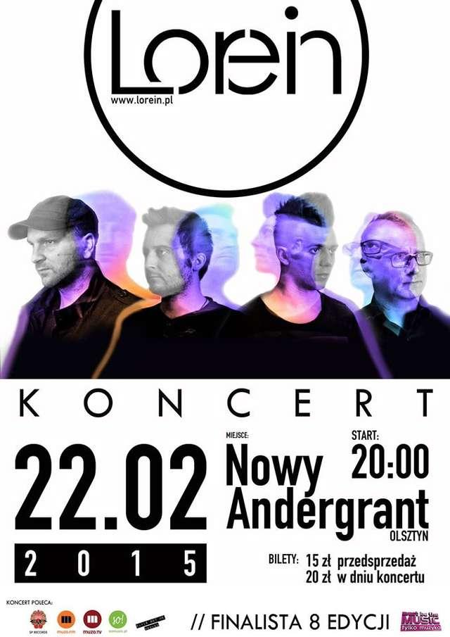 Koncert promujący album DRZEWA I PLANETY zespołu Lorein - full image