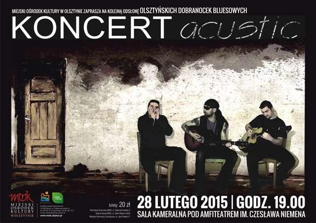 Koncert śląskiej grupy Acustic na bluesowe dobranoc - full image