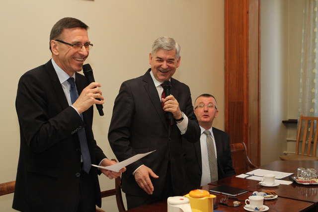 Będzie wsparcie na remont stadionu w Kortowie? Władze UWM spotkały się z prezydentem - full image