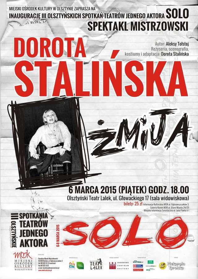"""Olsztyńskie Spotkania Teatrów Jednego Aktora """"Solo"""" - full image"""