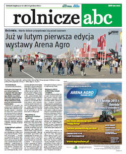 Rolnicze ABC - grudzień 2014