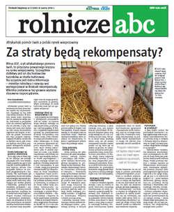 Rolnicze ABC - marzec 2014