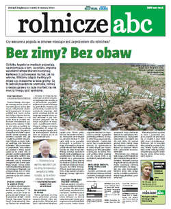 Rolnicze ABC - styczeń 2014