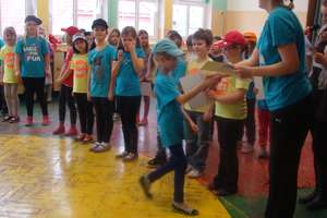 Pokaz tańca Wasilewski-Felska w Zespole Szkół w Pieckach
