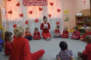 Walentyki w Przedszkolu Gminnym Nr 1 w Bartoszycach
