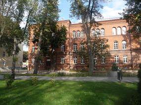 Gmach Gimnazjum nr 1 w Ełku