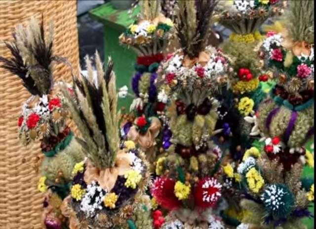 Wileńskie palmy Wielkanocne - full image