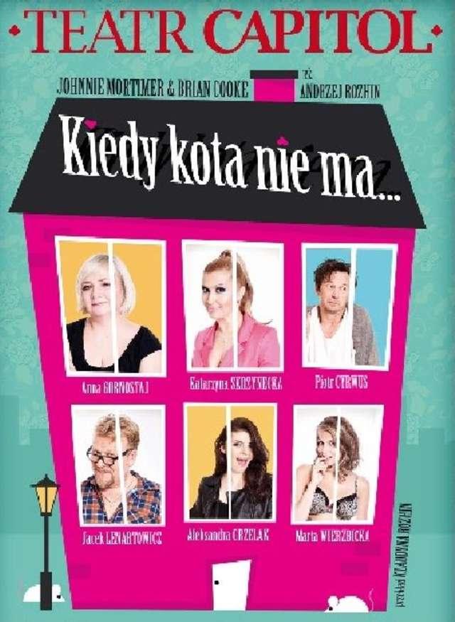 Kiedy kota nie ma.... Gwiazdy teatru i TV w Olsztynie - full image