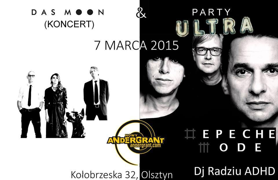 Mega Depeche Mode Party w Andergrancie