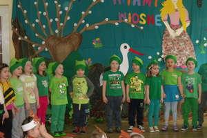 Ekologiczne powitanie wiosny w przedszkolu nr 2