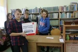 Ogólnopolskie Wybory Książek w bibliotece Gimnazjum nr 2 w Działdowie
