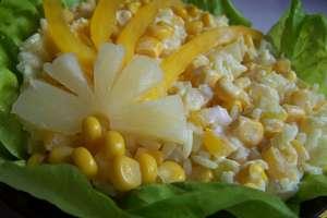 Sałatka na żółto