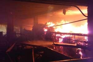 Pożar na Piaskowej