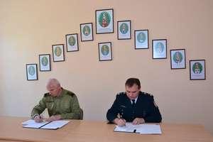 Spotkanie przedstawicieli Straży Granicznej i Służby Celnej
