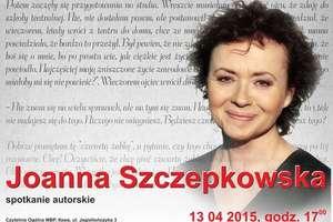 Spotkanie autorskie z Joanną Szczepkowską